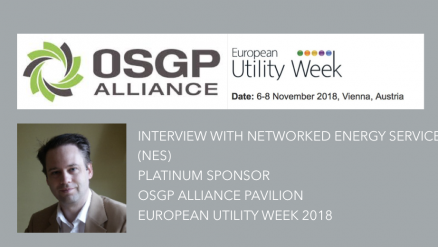 Interview with Networked Energy Services (NES), Patinum Sponsor, OSGP Alliance Pavilion, European Utility Week