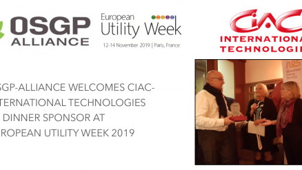 CIAC INTERNATIONAL TECHNOLOGIES  to join OSGP Alliance Pavilion at EUW