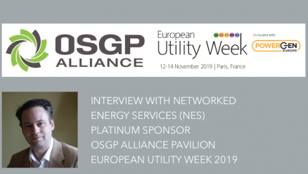 Interview with Networked Energy Services (NES), Platinum Sponsor, OSGP Alliance Pavilion, European Utility Week 2019