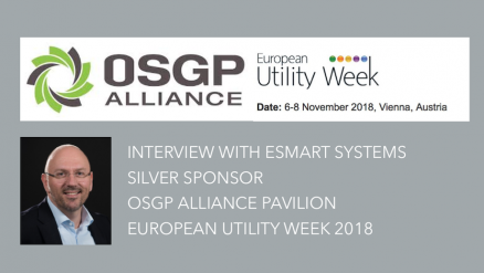 Interview with eSmart Systems, Silver Sponsor, OSGP Alliance Pavilion, European Utility Week 2018